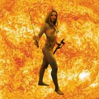 Solar - Modelo: Glaucia - Arte Digital: Henrique Vieira Filho